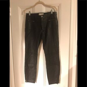 Abercrombie & Fitch pleather pants